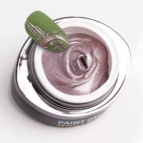 Contour Paint Gel 08 - Metal Rose