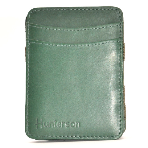 Hunterson Magic coin Wallet, dunkelgrün