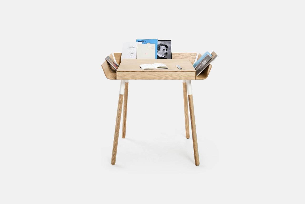 Schreibtisch my writing desk 1 schublade emko for Kleiner holz schreibtisch