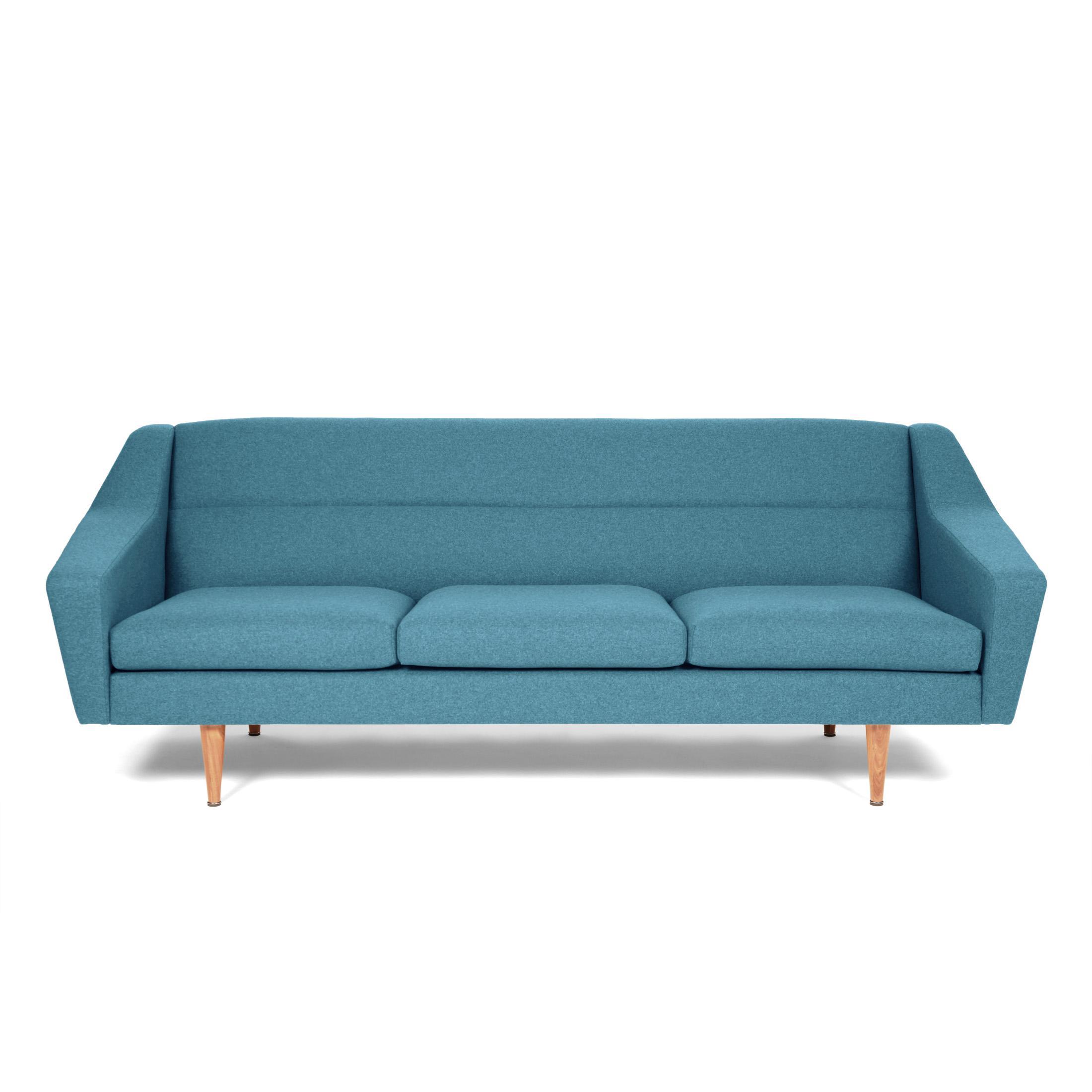 Innenarchitektur 3 Sitzer Couch Beste Wahl Designer-sofa Retro Petrol