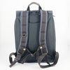Property Of Alex 24h Rucksack grau, stone blue/dark brown
