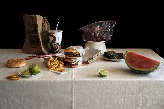 Still Life with Burgers, Exodus Serie 2014